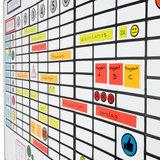 Whiteboard Balk Magneten 15 cm
