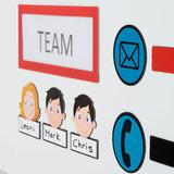 Scrumbord Mail Magneten 3