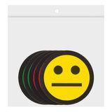 Scrum Smiley Magneten 2,5 cm Mix Zakje