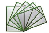 5 Magnetische insteekhoezen Groen