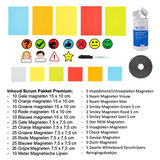 Inhoud Premium Scrum Pakket 2DOBOARD