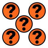 Whiteboard Scrum Magnet Questionmark
