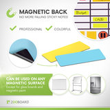 Magneten Whiteboard 7,5 x 2,5 cm