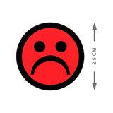 Scrum Smiley Magneten 2,5 cm Rood Maat