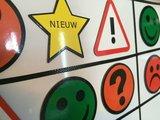 Smiley Magneten Scrum Agile - Magneet - Rood - Vrolijk - Scrumartikelen.nl