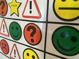 Gele Smiley magneet 2