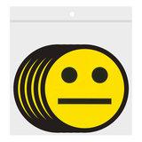 Scrum Smiley Magneten 5 cm Geel Zakje