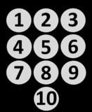 Magnetische Cijfers Rond