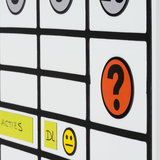 Whiteboard Smiley magneet Geel 2,5 cm