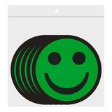 Scrum Smiley Magneten 5cm Groen Zakje