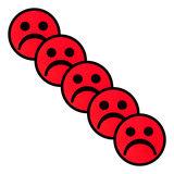 Scrum Smiley Magneten Rood 5 cm Diagonaal