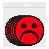 Scrum Smiley Magneten 5cm Rood Zakje