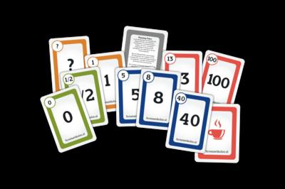 Scrum Planning Poker Kaarten - Agile - Scrumartikelen.nl