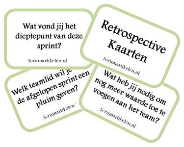 Scrum Agile Retrospective Kaarten - Scrumartikelen.nl