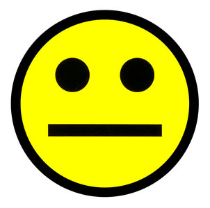 Scrum Smiley Magneet 5 cm Geel