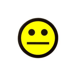 Scrum Smiley 2,5 cm Geel