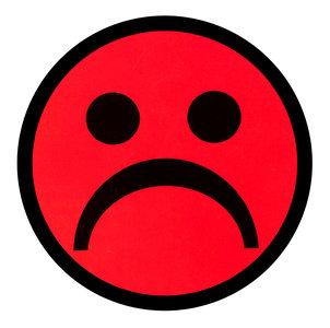 Scrum Smiley Magneet Rood 5 cm