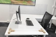 Plexiglas houten voetstuken 2DOBOARD